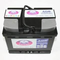 Serie Start & Stop - Batteria AGM 60 Ah