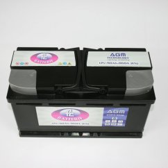 Serie Start & Stop - Batteria AGM 90 Ah